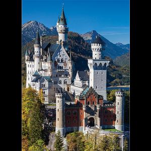Jumbo Puzzles & Accs . JUM Neuschwanstein 1000 pc Puzzle