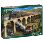 Falcon Deluxe Puzzles . FLD 1000 PCS, THE VIADUCT Puzzle