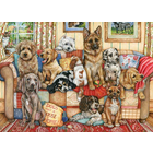 Falcon Deluxe Puzzles . FLD Gathering on the Couch 1000 pc Puzzle