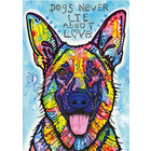 Heye Puzzles. HEY 1000PC, DOGS NEVER LIE Puzzle