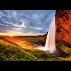 Heye Puzzles. HEY Seljalandsfoss Waterfall 1000 pc puzzle