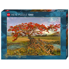 Heye Puzzles. HEY Strontium Tree, Enigma Trees 1000 pc Puzzle