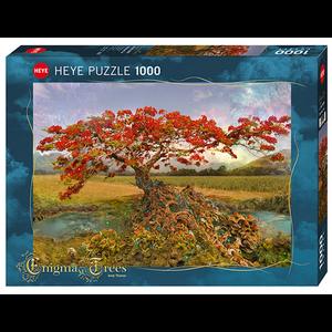 Heye Puzzles. HEY Strontium Tree, Enigma Trees 1000 pc Puzzle