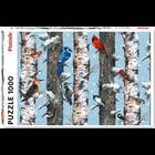 Piatnik Puzzles . PIA 1000 PCS, CHRISTMAS BIRDS Puzzle