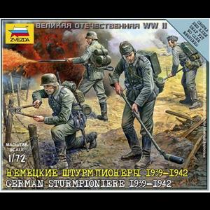 Zvezda Models . ZVE 1/72 GERMAN STURMPIONIERE