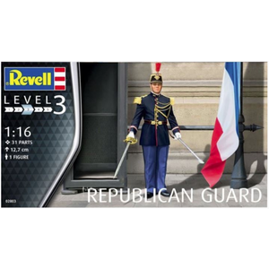 Revell of Germany . RVL (DISC) - 1/16 REPUBLICAN GUARD