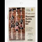 SOLID OAK . SDO Macrame Bottle Bags Kit