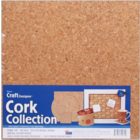 "Darice . DAR Cork Collection Tiles-12""X12""X5mm 4/Pkg"
