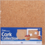 "Darice . DAR Cork Collection Tiles-12""X12""X5mm 4/Pkg"