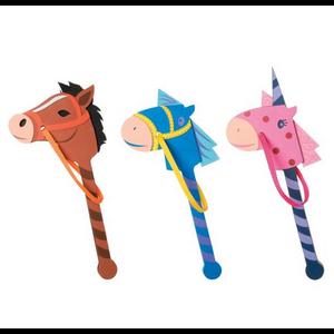 Darice . DAR Foam Kit Horse On A Stick