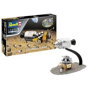 Revell of Germany . RVL 1/96 Apollo 11 Columbia & Eagle