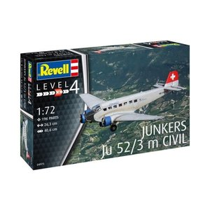Revell of Germany . RVL 1/72 Junkers Ju 52/3M Civil