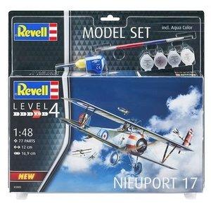 Revell of Germany . RVL 1/48 Nieuport 17 Gift Set