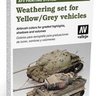 Vallejo Paints . VLJ GREEN VEHICLE AFV WEATHERING S