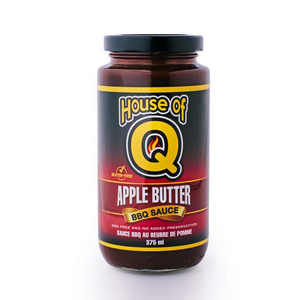 House of Q . HOQ House of Q Apple Butter BBQ Sauce