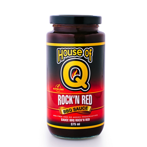 House of Q . HOQ House of Q Rock'n Red BBQ Sauce