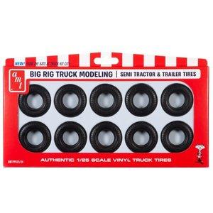 AMT\ERTL\Racing Champions.AMT 1/25 Big Rig Truck Tire Parts Pack