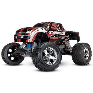 Traxxas Corp . TRA Traxxas Stampede 1/10 2wd XL-5 RedX DC Charger