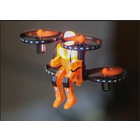 Rage RC . RGR JETPACK COMMANDER-NIGHT(ORANGE)