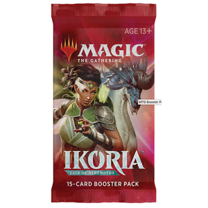 Wizards of the Coast . WOC Magic the Gathering - Ikoria: Lair of Behemoths - Booster Pack