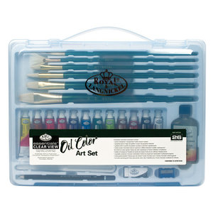 Royal (art supplies) . ROY Clear Case Oil Painting Set