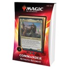 Wizards of the Coast . WOC Magic the Gathering -  Ikoria: Lair of Behemoths - Ruthless Regiment Commander Deck