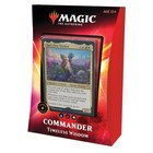 Wizards of the Coast . WOC Magic the Gathering -  Ikoria: Lair of Behemoths - Timeless Wisdom Commander Deck