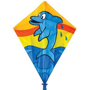 "Skydogs Kites . SKK 26"" Dolphin Diamond Kite"