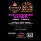 Lumber Jack Pellets . LUM Lumber Jack Fruitwood Blend Pellets - 20lb