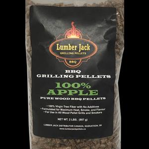 Lumber Jack Pellets . LUM Lumber Jack 100% Apple Pellets - 2lb