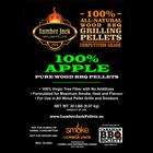 Lumber Jack Pellets . LUM Lumber Jack 100% Apple Pellets - 20lb