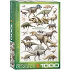 Eurographics Puzzles . EGP Dinosaurs of Cretaceous Period - 1000pc Puzzle