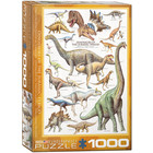 Eurographics Puzzles . EGP Dinosaurs of Jurassic Period - 1000pc Puzzle