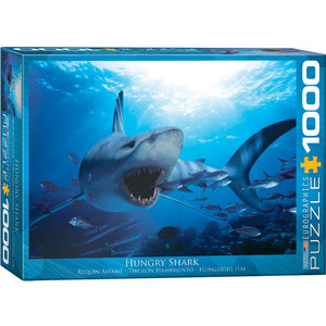 Eurographics Puzzles . EGP Hungry Shark - 1000pc Puzzle