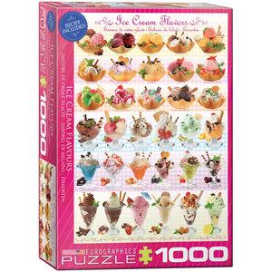 Eurographics Puzzles . EGP Ice Cream Flavours - 1000pc Puzzle