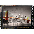 Eurographics Puzzles . EGP New York City Brooklyn Bridge - 1000pc Puzzle
