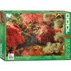 Eurographics Puzzles . EGP Butchart Japanese Gardens - 1000pc Puzzle Calgary Nature