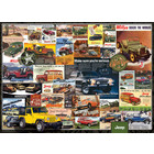 Eurographics Puzzles . EGP Jeep Advertising Collection - 1000pc Puzzle