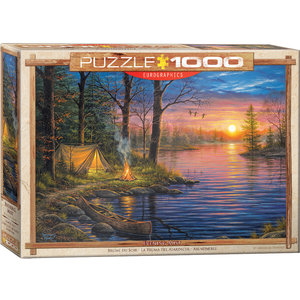 Eurographics Puzzles . EGP Evening Mist by Abraham Hunter - 1000pc Puzzle