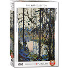 Eurographics Puzzles . EGP Study for Northern River - 1000pc Puzzle History Art Nature Calgary