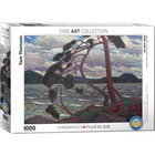 Eurographics Puzzles . EGP The West Wind by Tom Thomson - 1000pc Puzzle Nature History Art Calgary Painting