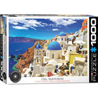 Eurographics Puzzles . EGP Oia Santorini Greece - 1000pc Puzzle
