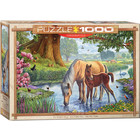 Eurographics Puzzles . EGP The Fell Ponies by Steve Crisp - 1000pc Puzzle