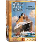 Eurographics Puzzles . EGP Titanic White Star Line - 1000pc Puzzle