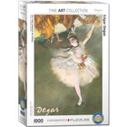 Eurographics Puzzles . EGP Ballerina by Edgar Degas - 1000pc Puzzle History Art Calgary