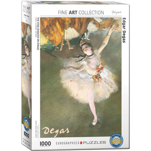 Eurographics Puzzles . EGP Ballerina by Edgar Degas - 1000pc Puzzle