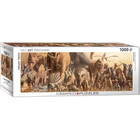 Eurographics Puzzles . EGP Dinosaurs by Haruo Takino - 1000pc Puzzle