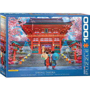 Eurographics Puzzles . EGP Asia House by David MacLean – 1000pc Puzzle