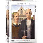 Eurographics Puzzles . EGP American Gothic by Grant Wood - 1000pc Puzzle