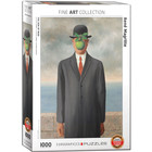 Eurographics Puzzles . EGP Son of Man by Rene Magritte - 1000pc Puzzle History Art Calgary